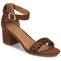 Schoenen Dames Sandalen / Open schoenen Moony Mood MEDIO Luipaard