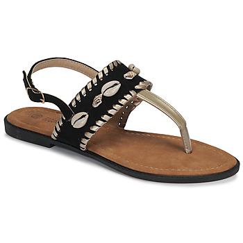 Schoenen Dames Sandalen / Open schoenen Moony Mood MARISE Zwart