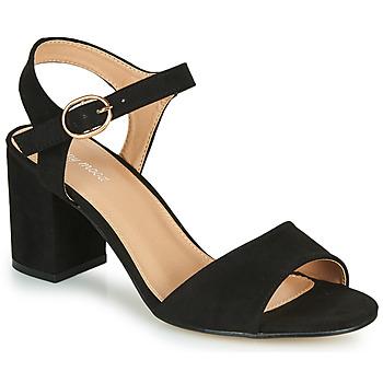 Schoenen Dames Sandalen / Open schoenen Moony Mood MEGANE Zwart
