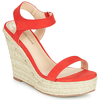 Schoenen Dames Sandalen / Open schoenen Moony Mood MARLEINE Rood