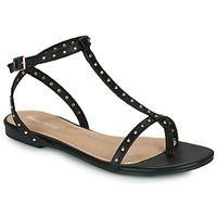 Schoenen Dames Sandalen / Open schoenen Moony Mood MARIELLE Zwart