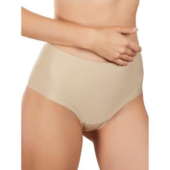 Ondergoed Dames Slips Selmark ultra-zichtbare hoge taille slip Pruim