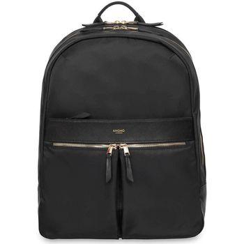 Tassen Dames Rugzakken Knomo Laptop Rugzak 15 inch Mayfair Beaufort/Goud Zwart