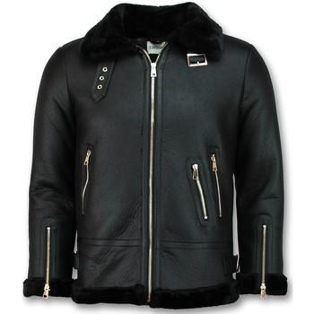 Textiel Dames Leren jas / kunstleren jas Z Design Lammy Coat Winterjas 38