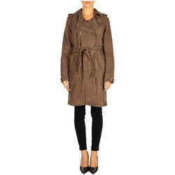 Textiel Dames Mantel jassen Bully TRENCH taupe