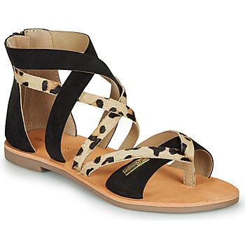 Schoenen Dames Sandalen / Open schoenen Les Tropéziennes par M Belarbi POPS Zwart / Luipaard