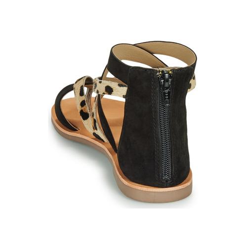 Les Tropéziennes par M Belarbi POPS Zwart / Luipaard - Gratis levering  Schoenen Sandalen Dames