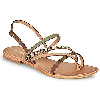 Schoenen Dames Sandalen / Open schoenen Les Tropéziennes par M Belarbi HOUKA Kaki / Multi