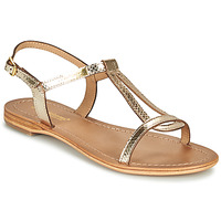 Schoenen Dames Sandalen / Open schoenen Les Tropéziennes par M Belarbi HAMAT Goud / Slang