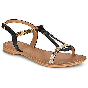 Schoenen Dames Sandalen / Open schoenen Les Tropéziennes par M Belarbi HAMAT Zwart / Luipaard