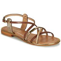 Schoenen Dames Sandalen / Open schoenen Les Tropéziennes par M Belarbi HARRY Tan / Goud