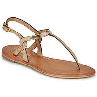 Schoenen Dames Sandalen / Open schoenen Les Tropéziennes par M Belarbi BILLY Goud / Iris