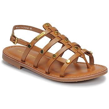 Schoenen Meisjes Sandalen / Open schoenen Les Tropéziennes par M Belarbi HAKEA Bruin