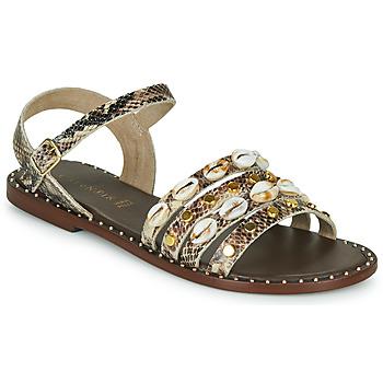 Schoenen Dames Sandalen / Open schoenen Café Noir  Bruin