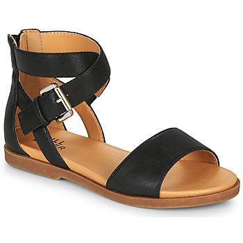 Schoenen Meisjes Sandalen / Open schoenen Bullboxer MELISSA Zwart