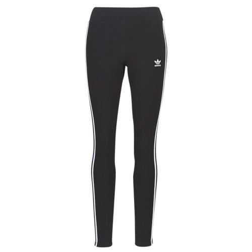 Textiel Dames Leggings adidas Originals 3 STR TIGHT Zwart