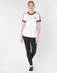 Textiel Dames Leggings adidas Originals Tights black Zwart