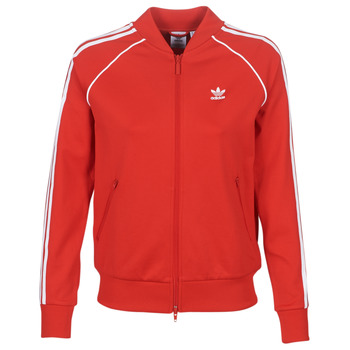 Textiel Dames Trainings jassen adidas Originals SS TT Rood / Luxuriant