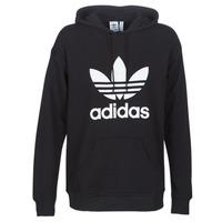 Textiel Dames Sweaters / Sweatshirts adidas Originals TRF HOODIE Zwart