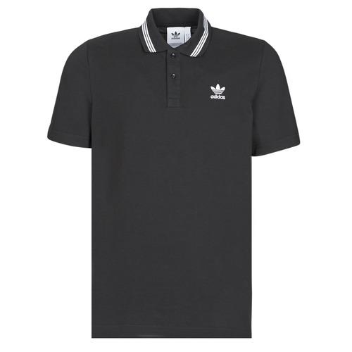 Textiel Heren Polo's korte mouwen adidas Originals PIQUE POLO Zwart