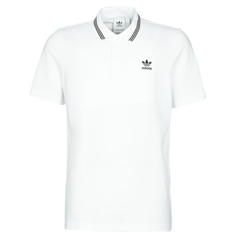 Textiel Heren Polo's korte mouwen adidas Originals PIQUE POLO Wit