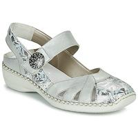 Schoenen Dames Sandalen / Open schoenen Rieker KYLIAN Zilver