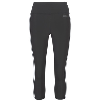 Textiel Dames Leggings adidas Performance D2M 3S 34 TIG Zwart