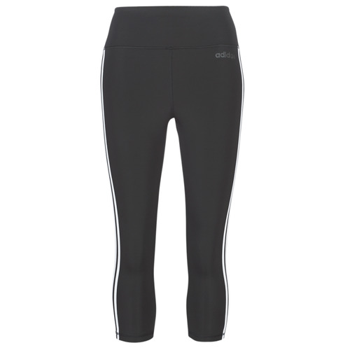 Textiel Dames Leggings adidas Performance D2M 3S 34 TIG Zwart