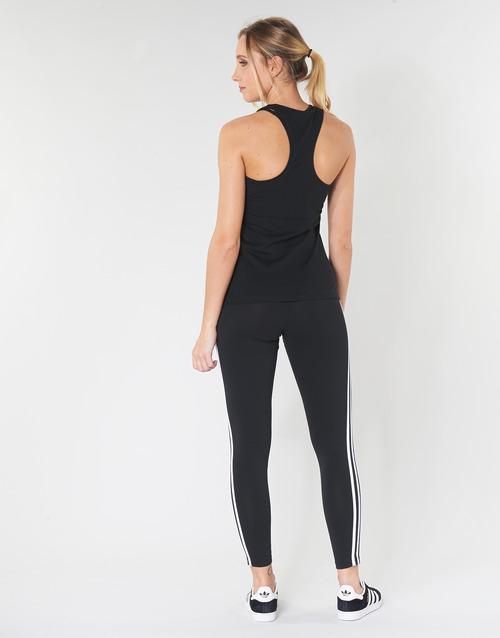 adidas Performance E LIN SLIM TK Zwart - Gratis levering  Textiel Mouwloze tops Dames