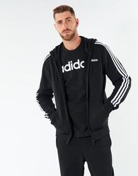 Textiel Heren Sweaters / Sweatshirts adidas Performance E 3S FZ FT Zwart