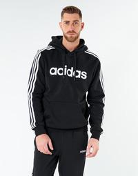 Textiel Heren Sweaters / Sweatshirts adidas Performance E 3S PO FL Zwart