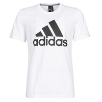 Textiel Heren T-shirts korte mouwen adidas Performance MH BOS Tee Wit