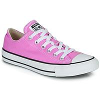 Schoenen Dames Lage sneakers Converse CHUCK TAYLOR ALL STAR SEASONAL COLOR Roze