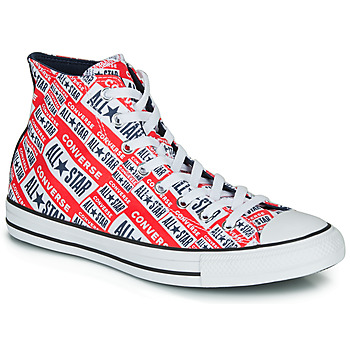 Schoenen Heren Hoge sneakers Converse Chuck Taylor All Star Logo Play Rood / Multi