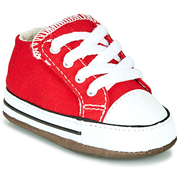 Schoenen Kinderen Hoge sneakers Converse CHUCK TAYLOR ALL STAR CRIBSTER CANVAS COLOR Rood