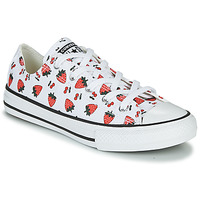 Schoenen Kinderen Lage sneakers Converse CHUCK TAYLOR ALL STAR SPRING FRUITS Wit / Rood