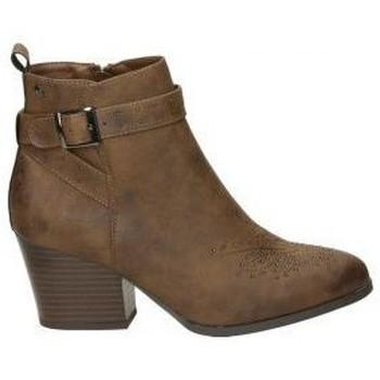 Schoenen Dames Enkellaarzen MTNG 57994 Marron