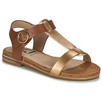 Schoenen Dames Sandalen / Open schoenen Armistice RIO SUNSET Bruin / Goud