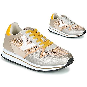 Schoenen Dames Lage sneakers Victoria COMETA SERPIENTE Beige