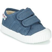 Schoenen Kinderen Lage sneakers Victoria BASKET VELCRO Blauw