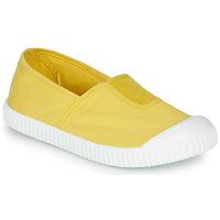 Schoenen Meisjes Lage sneakers Victoria CAMPING TINTADO Geel