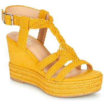 Schoenen Dames Sandalen / Open schoenen Bullboxer 175018F2T Geel