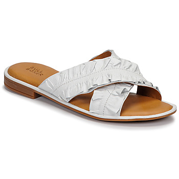 Schoenen Dames Leren slippers Bullboxer 510000T1L Wit