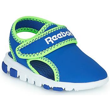 Schoenen Jongens Sandalen / Open schoenen Reebok Sport WAVE GLIDER III Blauw / Groen