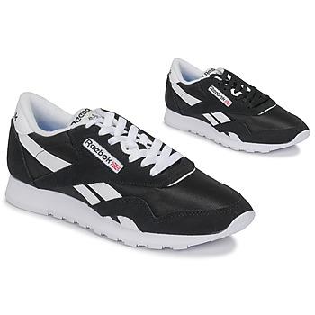 Schoenen Lage sneakers Reebok Classic CL NYLON Zwart