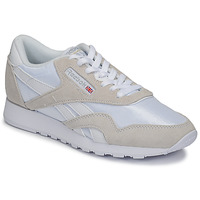 Schoenen Lage sneakers Reebok Classic CL NYLON Wit / Beige