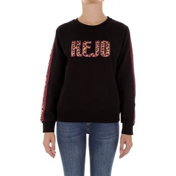 Textiel Dames Sweaters / Sweatshirts Kejo KW20-609W Nero