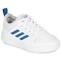 Schoenen Jongens Lage sneakers adidas Performance TENSAUR C Wit / Blauw