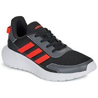 Schoenen Jongens Lage sneakers adidas Performance TENSAUR RUN K Zwart / Rood