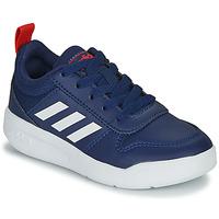 Schoenen Kinderen Lage sneakers adidas Performance TENSAUR K Blauw / Wit